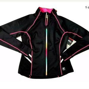 FILA Sport Women's Sweater Zip Up Running Jogging